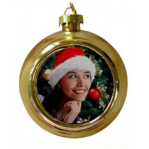 Sublimation ink Blank Christmas baubles Ornaments Heat Press