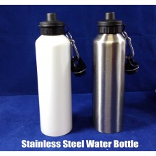 blank stainless steel water bottle for dye sublimation ink printing 750ml